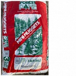 Pine Bark Mini Nuggets 3 cubic ft bag